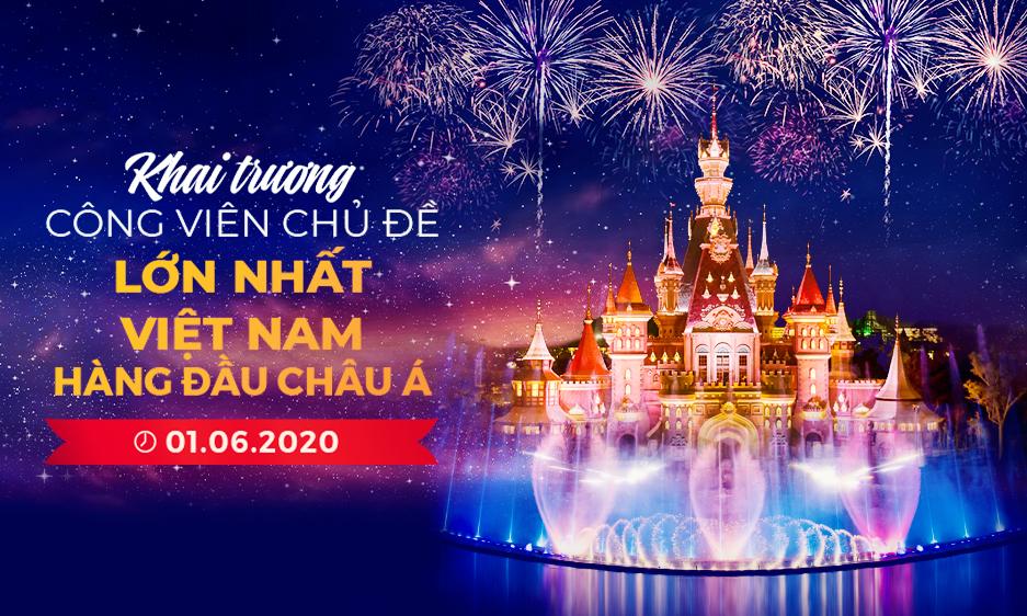 MỪNG KHAI TRƯƠNG VINWONDERS PHÚ QUỐC - TƯNG BỪNG ƯU ĐÃI TỪ 01.06.2020!