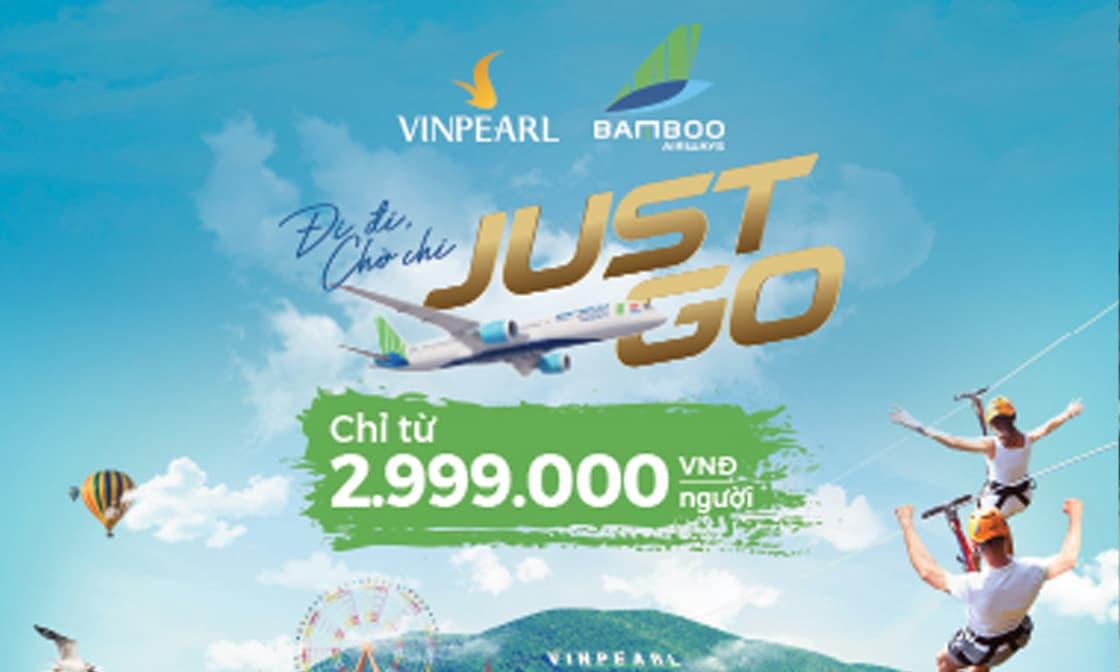 Combo vé máy bay và nghỉ dưỡng Vinpearl Phú Quốc chỉ từ 3.099.000đ
