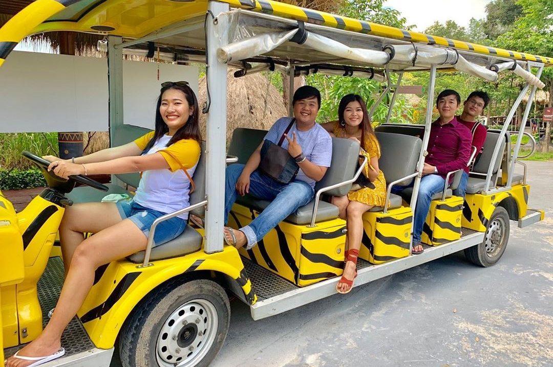 Dịch vụ xe điện Vinpearl Safari