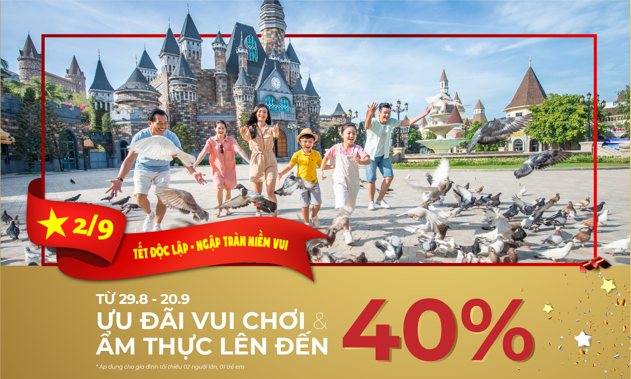 Ưu đãi lên đến 40% vui chơi và ẩm thực tại VinWonders Nha Trang!